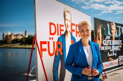 Läuft bei Manuela Schwesig