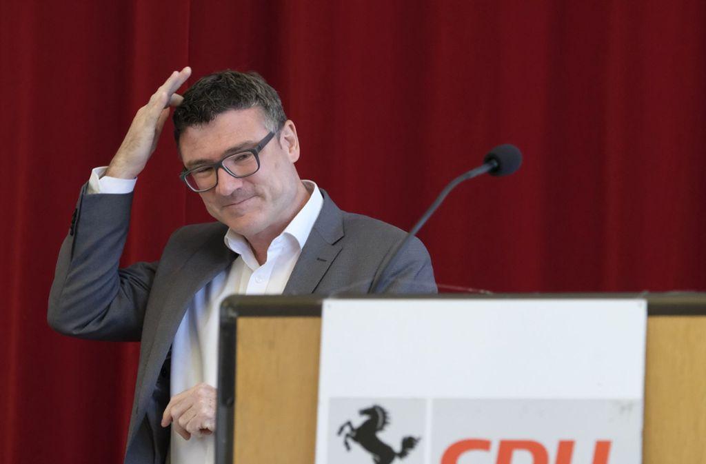 Seit sieben Jahren Chef der Stuttgarter CDU: der Bundestagsabgeordnete Stefan Kaufmann Foto: Lichtgut/Michael Latz