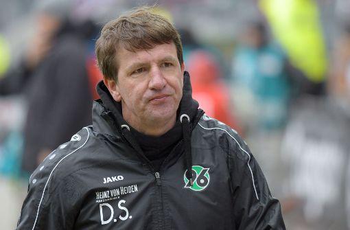 VfB-Konkurrent Hannover 96 entlässt Trainer Stendel