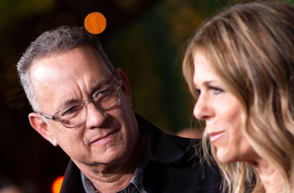 Tom Hanks und seine Frau Rita Wilson sind derzeit in Australien. Foto: AFP/VALERIE MACON
