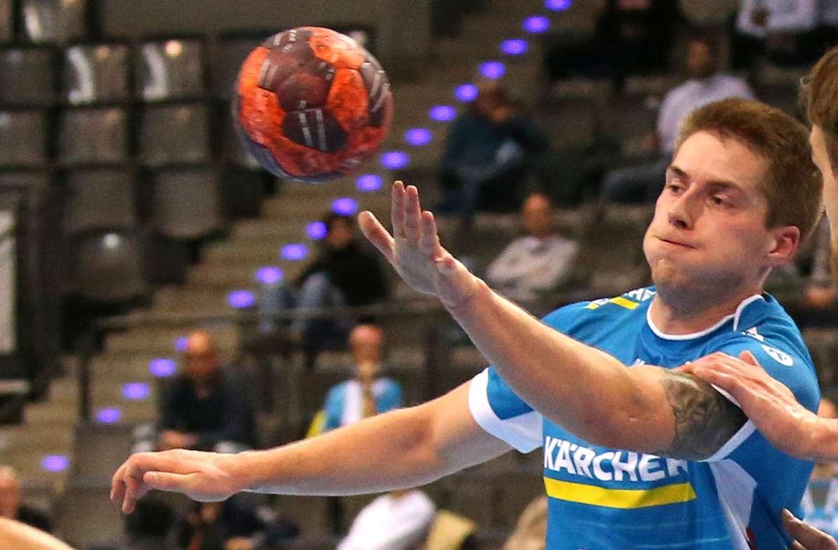 Matchwinner: Viggo Kristjansson macht elf Tore für den TVB. Foto: Pressefoto Baumann
