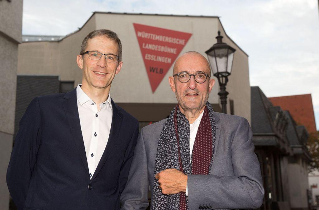 Marcus Grube rückt neben Friedrich Schirmer auf den Intendantensitz in Esslingen. Foto: Horst Rudel