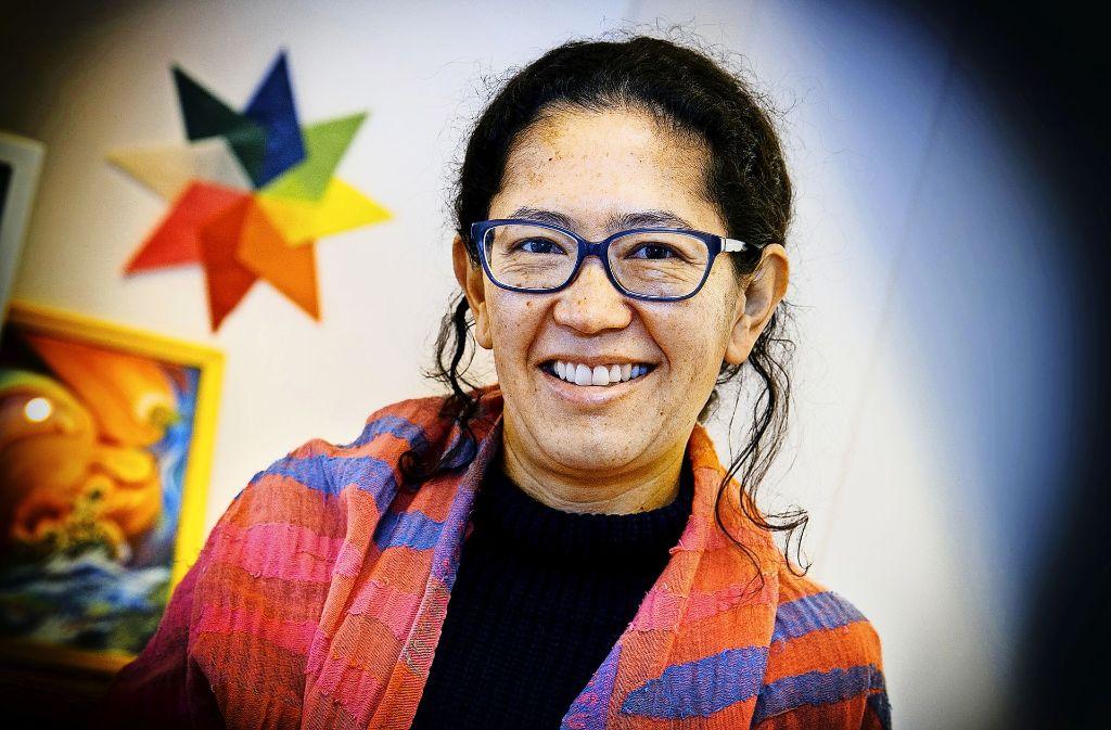 Marcela Ulloa stammt aus Kolumbien. In Ostfildern fühlt sie sich jedoch  zu Hause. Foto: Rudel