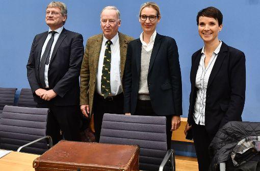 Weidel: Frauke Petry soll AfD verlassen
