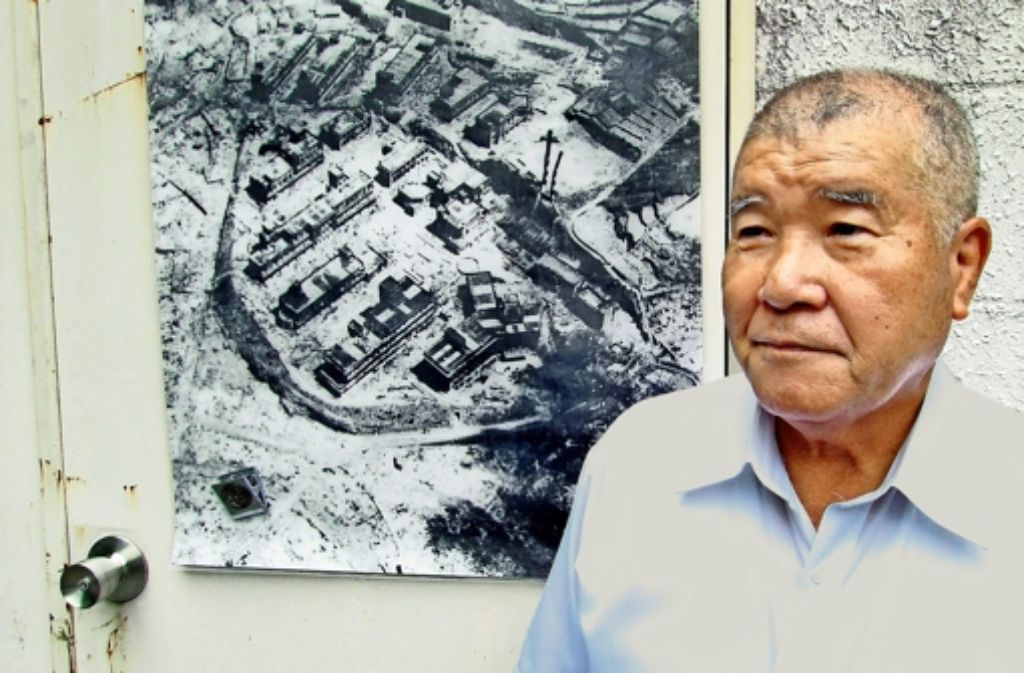 Michiaki Ikeda  hat den Atombombenabwurf auf Nagasaki überlebt. Foto: NDR