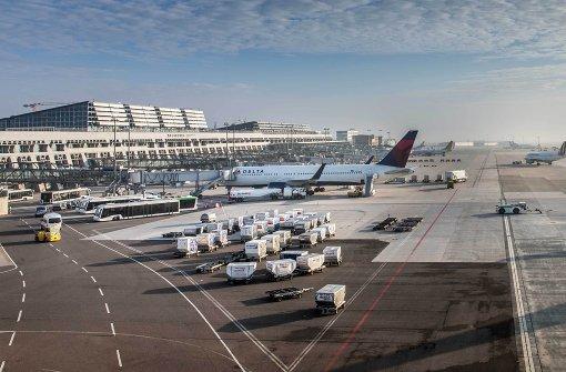 Note 1,7 für den Flughafen Stuttgart
