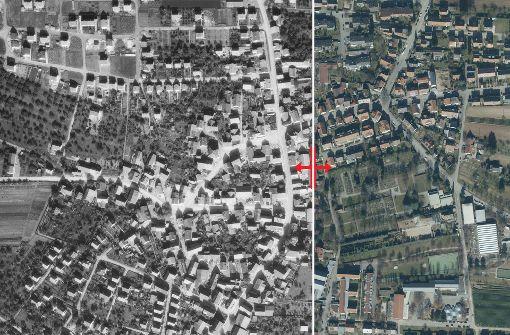 Die Erbastraße gehört zu beiden Stadtteilen