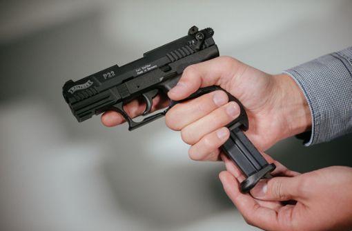 Polizei findet Waffen in Wohnung in Erkenbrechtsweiler