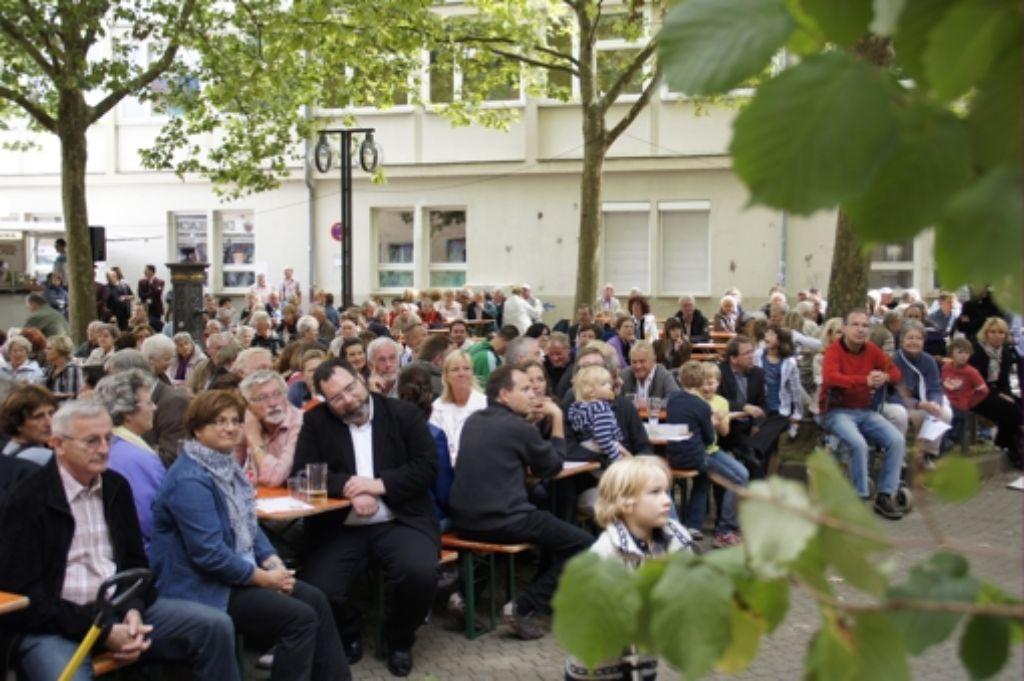 Der Bürgerverein  organisiert auch Straßenfeste.  Foto: Leonie Hemminger