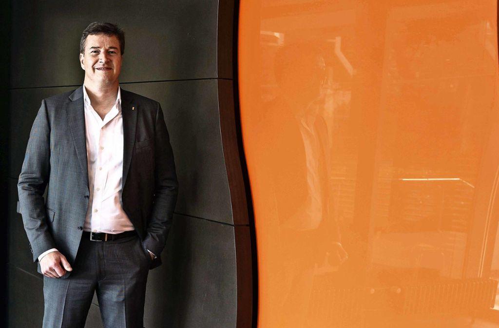 Rainer Otto F. Scharr leitet den  Energiehandel   in  vierter Generation. Foto: Lg/Max Kovalenko