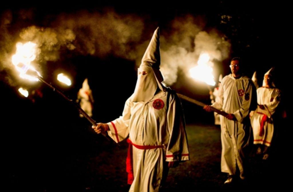 Ob sich in Schwäbisch Hall tatsächlich erneut ein Ku-Klux-Klan-Ableger gebildet hat, können die Behörden noch nicht sicher sagen. Foto: EPA