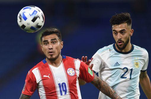 Nicolas Gonzalez trifft und rettet Argentinien das Remis