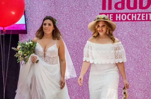 Heiratswillige in der Schleyer-Halle: Was sind die Hochzeitstrends?