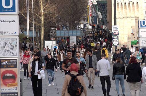 Frühlingsgefühle im Februar – Stuttgarter zieht es nach draußen