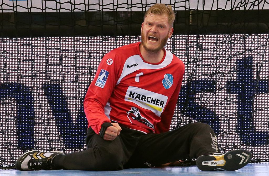 Steht im vorläufigen EM-Kader der deutschen Handballer: Johannes Bitter vom TVB Stuttgart Foto: Baumann