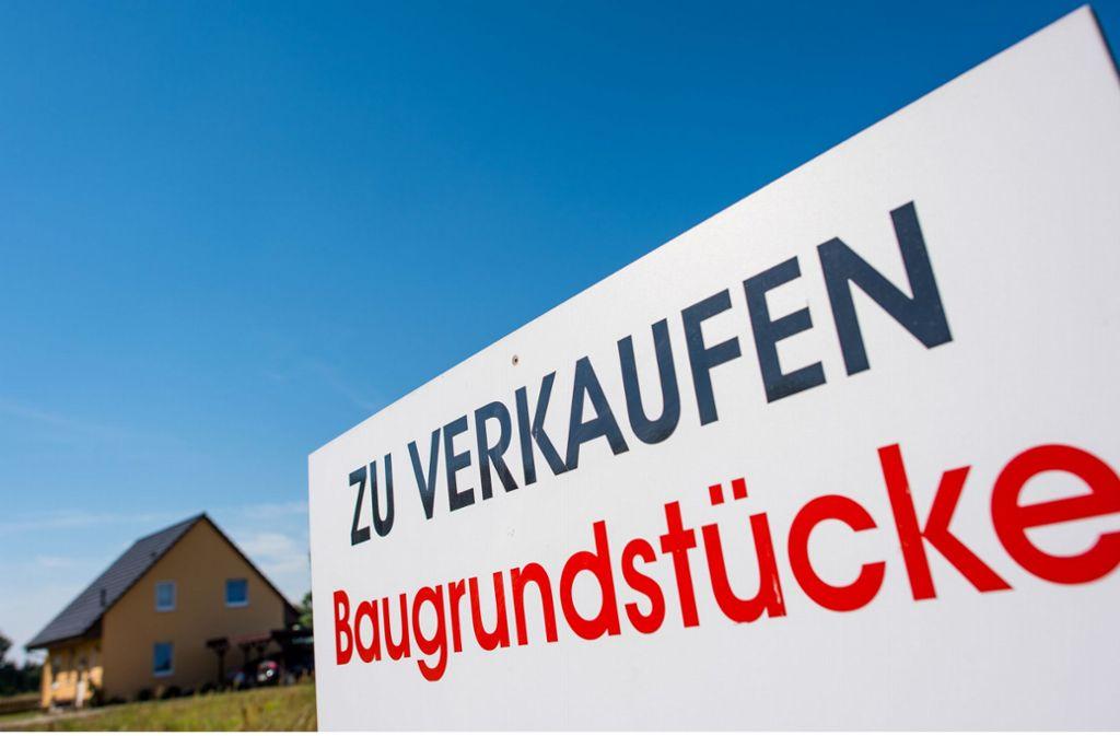 Elf Bauplätze in Rutesheim sind jetzt vergeben. Foto: dpa/Patrick Pleul