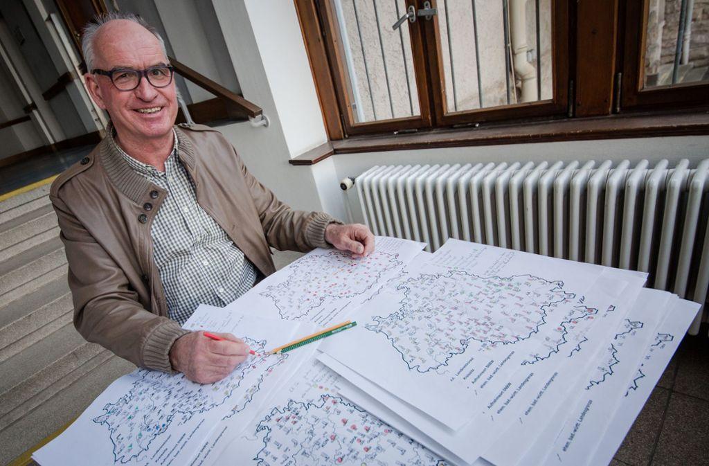Die Arbeitsstelle Sprache, die zum Tübinger Ludwig-Uhland-Institut für Empirische Kulturwissenschaft gehört, hat den Sprachatlas erstellt. Foto: dpa