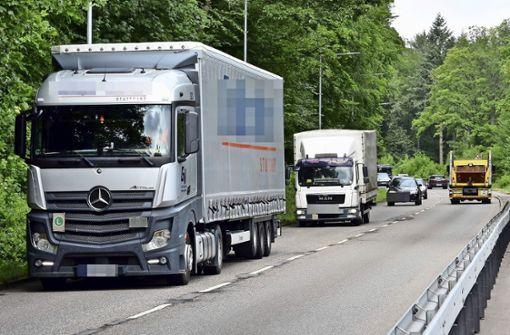 Widerstand  gegen Lastwagen-Verkehr