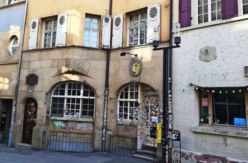 Das Gebäude Geißstraße 3 wurde 1907 von Karl Hengerer errichtet. Foto: Cedric Rehman