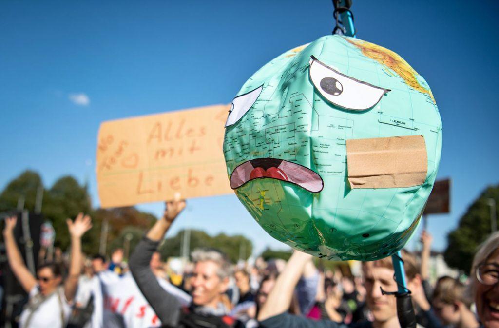 Fridays for Future will im Internet weiter für den Klimaschutz demonstrieren. Foto: dpa/Sina Schuldt