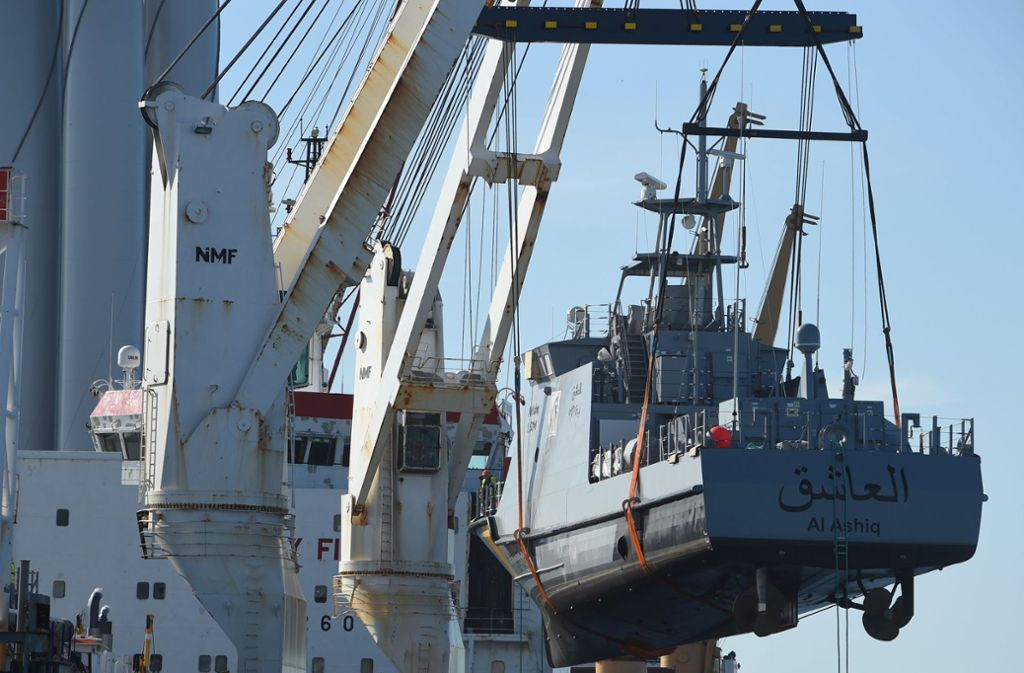 Noch im vorigen Jahr hat Saudi-Arabien  deutsche Küstenschutzboote erhalten. Foto: dpa/Stefan Sauer
