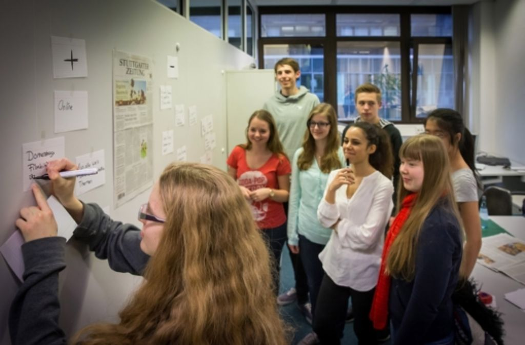 Wir findest du die Stuttgarter Zeitung? Diskutiere mit anderen Jugendlichen und unseren Redakteuren – und werde selbst zum Journalist. Foto: Achim Zweygarth