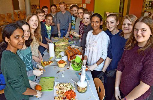 Schüler organisieren Aktionen für ein besseres Klima