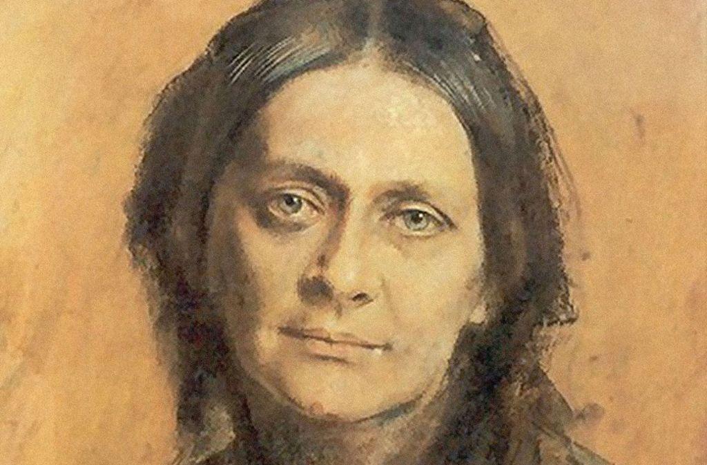 Clara Schumann: Pastellzeichnung von Franz von Lenbach nach Skizzen aus dem Jahr 1878. Foto: Mauritius
