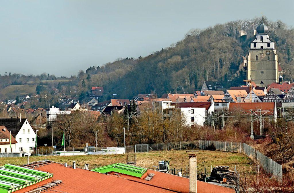 Auf dem Herrenberger  Baywa-Areal soll  ein Gebäudekomplex entstehen. Foto: factum/Bach