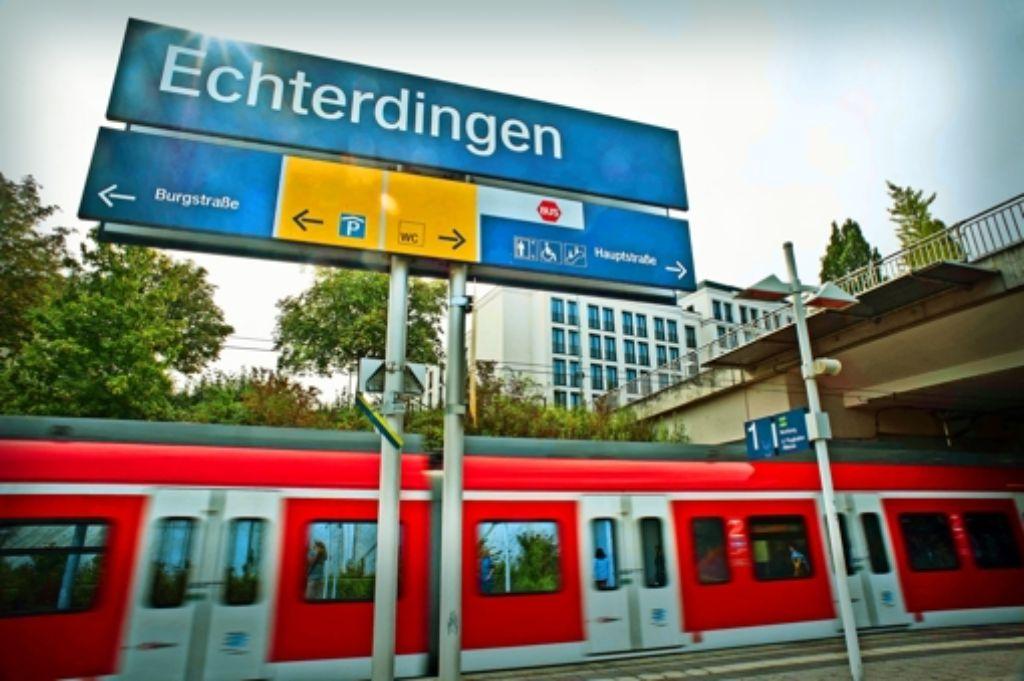 Weil fürs dritte Gleis der Fildertrasse Weichen nötig sind, pocht Leinfelden-Echterdingen auf  den Lärmschutz. Foto: Lichtgut/ Max Kovalenko