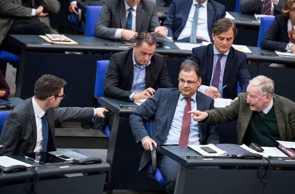 Erstmals wurde im Bundestag über den globalen Migrationspakt debattiert. Dabei wurde heftig gestritten. Foto: dpa