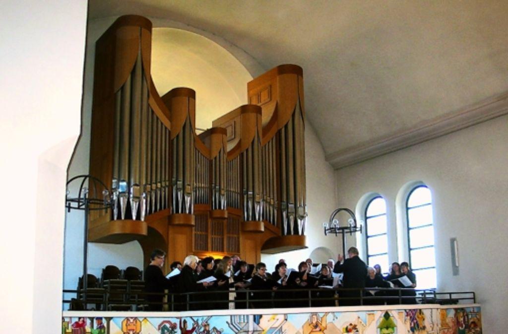 Die Pauluskantorei hat sich selbst ein Ständchen gesungen. Foto: Susanne Müller-Baji