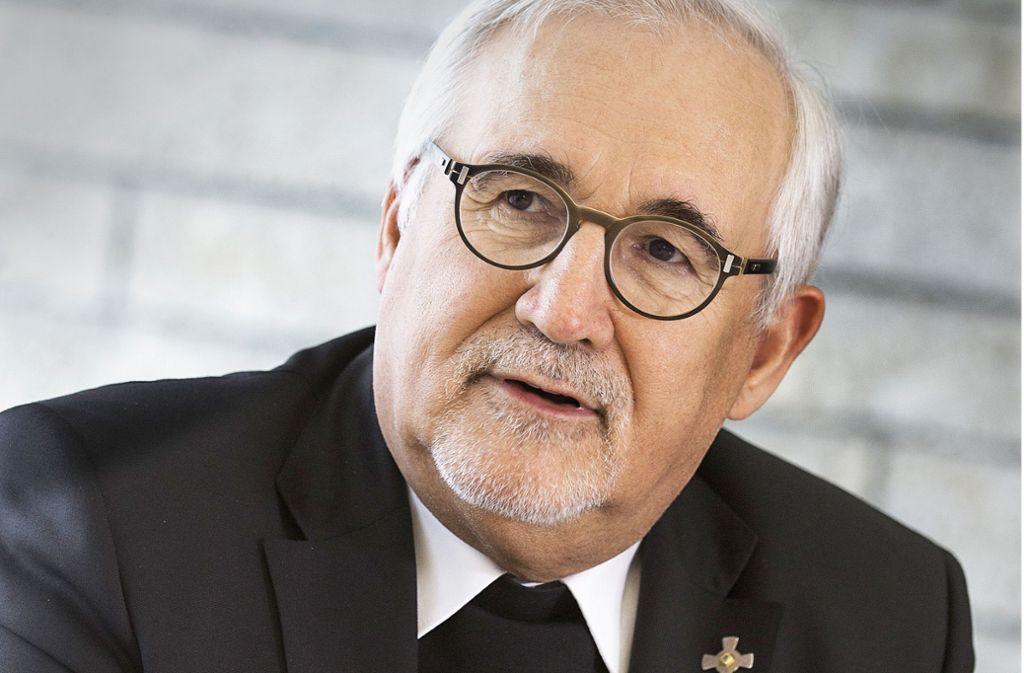 Gebhard Fürst fordert, die Trennung von Arbeit und Privatleben zu erhalten. Foto: Horst Rudel