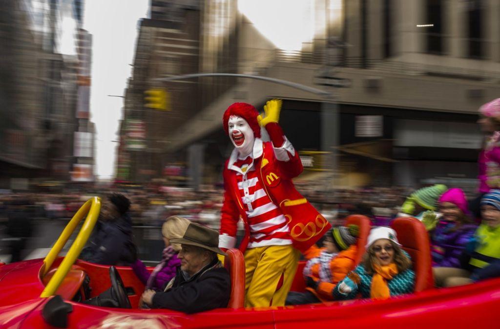 Ronald McDonald mach vorerst Pause. Foto: FR170905 AP