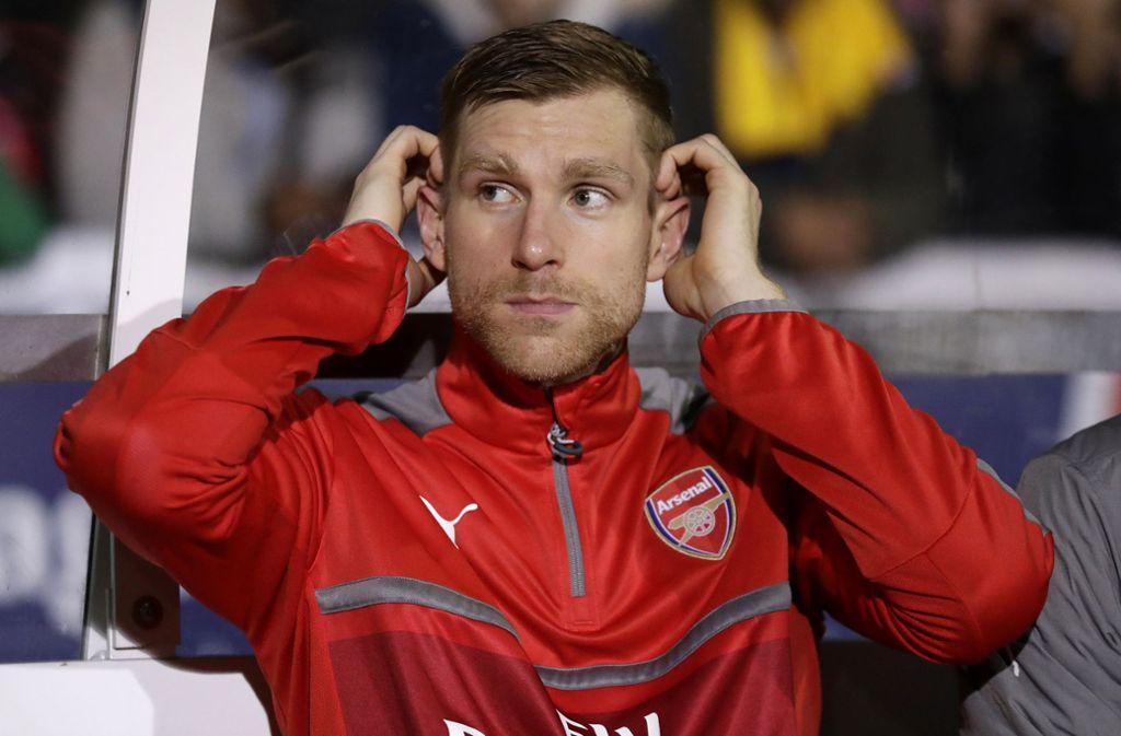 Per Mertesacker hatte mit einem Interview eine Diskussion über den psychologischen Druck auf Profifußballer angestoßen. Foto: AP