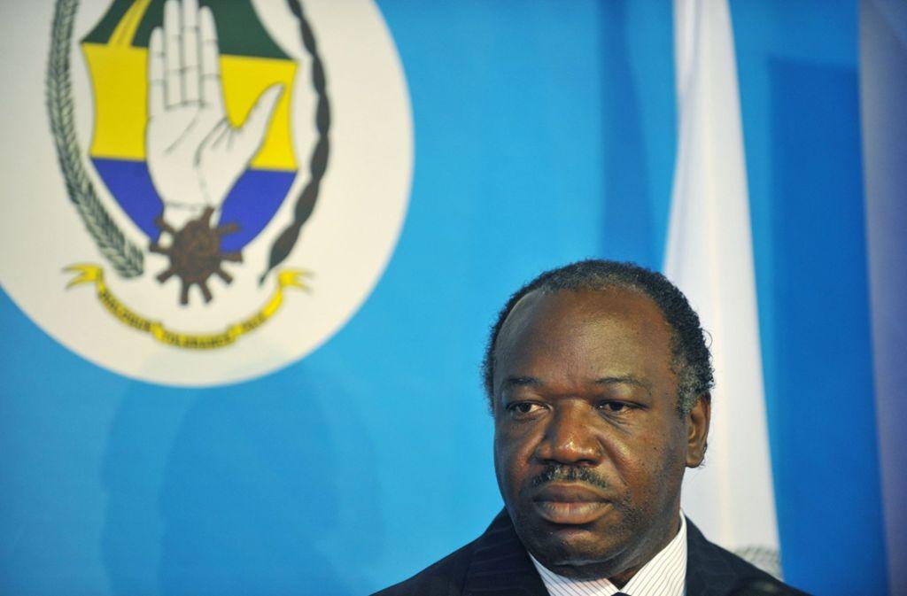 Gabuns Präsident Ali Bongo hält sich nach einem Schlaganfall derzeit zur medizinischen Behandlung in Marokko auf. Foto: AFP