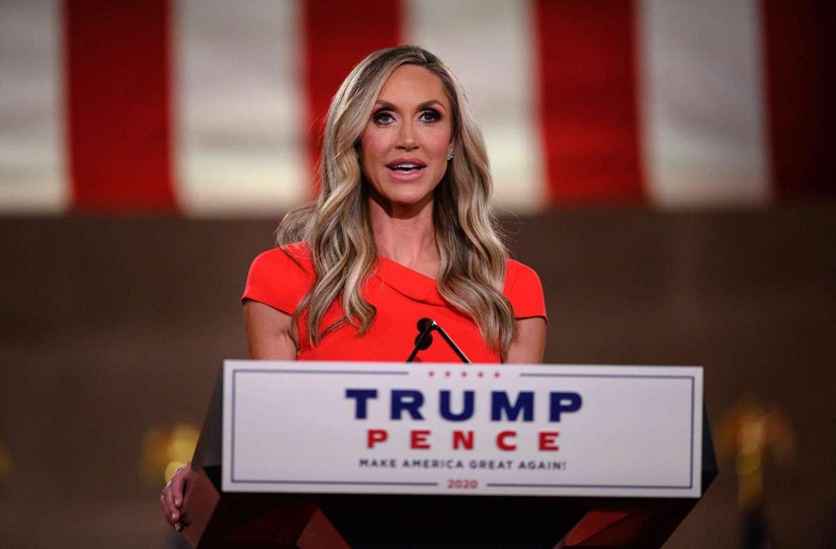 Lara Trump: Donald Trumps Schwiegertochter erwägt eine Karriere in der Politik. Foto: AFP/NICHOLAS KAMM