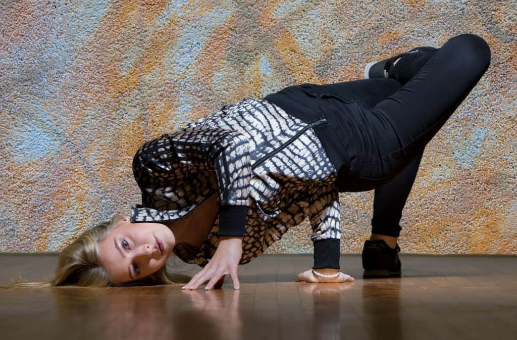 Die 16-jährige Sarah Meyer aus Mannheim hat die Streetdance-Meisterschaften in Glasgow gewonnen. Foto: Hans Aldenhoven