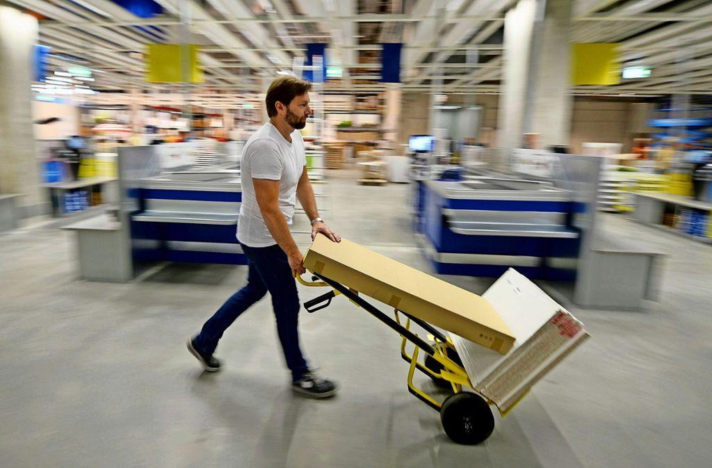 Ikea nimmt seine gebrauchten Möbel zurück. Foto: dpa