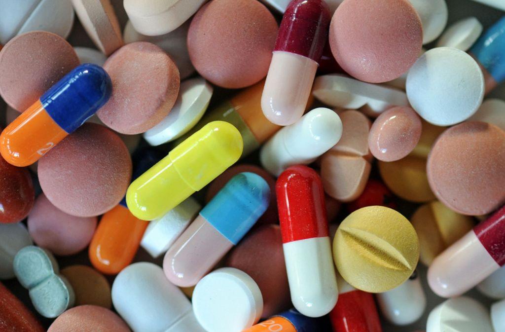Bunte Vielfalt, gefährliche Vielfalt: Ein Medikationsplan kann Leben retten. Foto: dpa-Zentralbild
