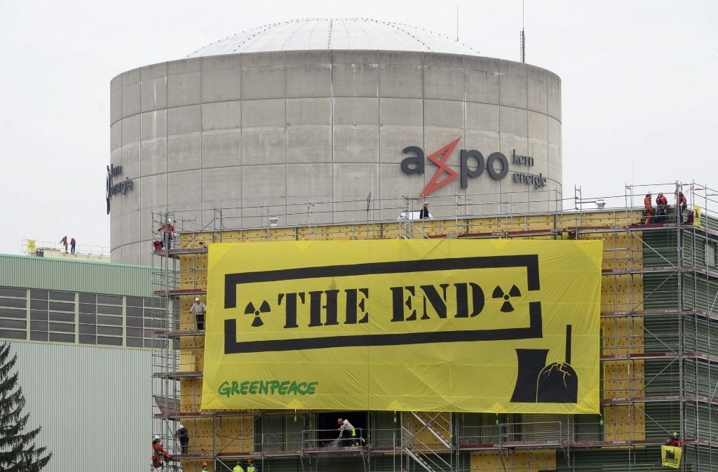 Die Schweizer stimmen über den Atomausstieg ab. Foto: KEYSTONE