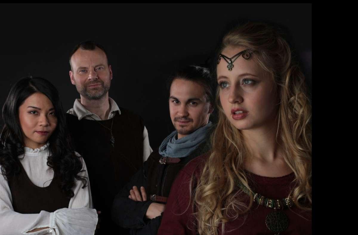 """Die Mystic-Folk-Band Fairy Tale hat sich auf """"gesungene Geschichten"""" spezialisiert Foto: IG Kultur/www.fairytale-folkmusic.de"""
