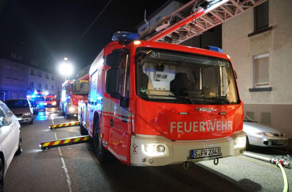 Das Feuer brach gegen 18.35 Uhr aus. Foto: SDMG