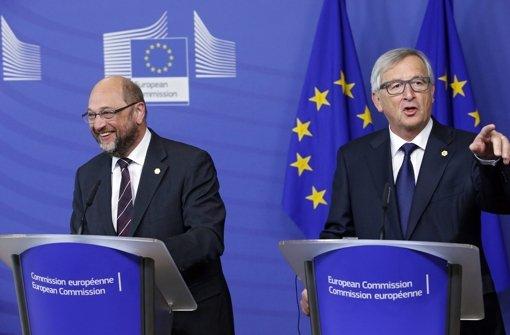 """Brüssel diskutiert den """"dritten Schulz"""""""