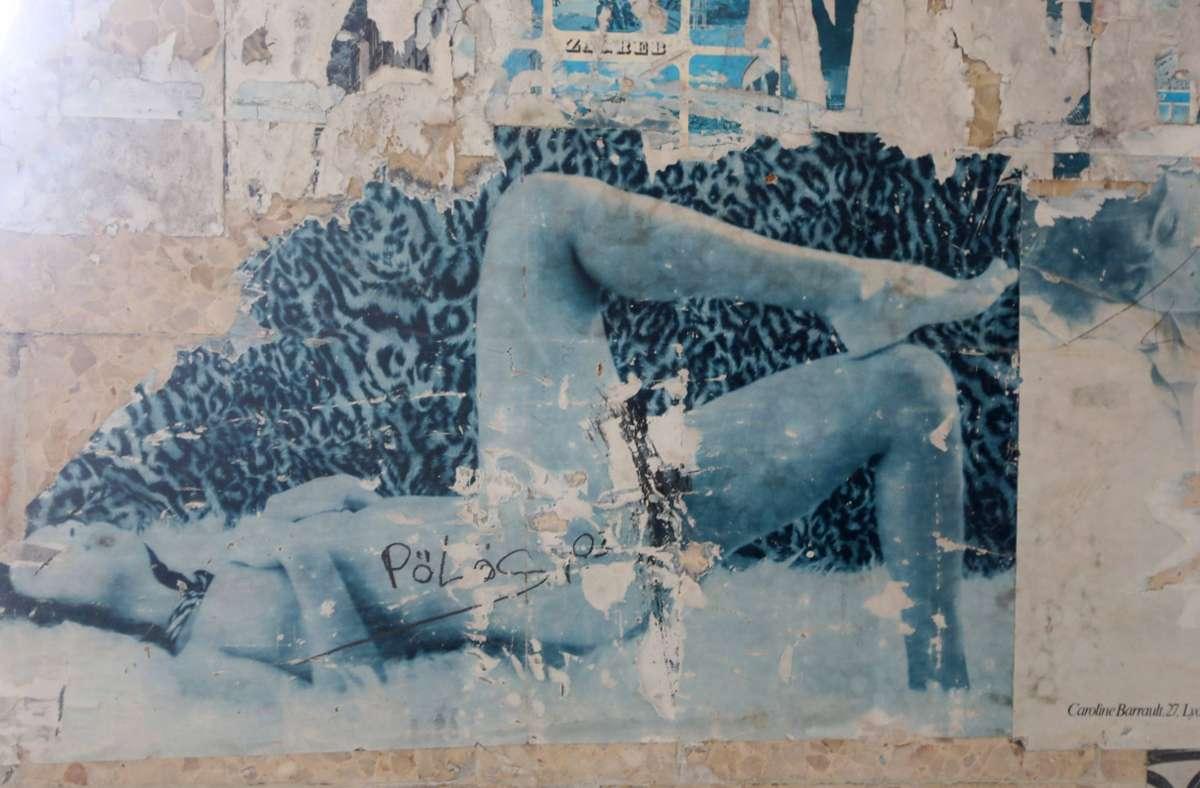 Zellenwand  auf der ex-jugoslawischen Gefängnisinsel Goli Otok, dem Schauplatz von David Grossmans neuem Roman Foto: imago images/Pixsell/Boris Scitar/Vecernji list/PIXSE via www.imago-images.de