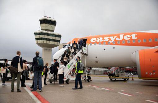 Der Hauptstadtflughafen öffnet seine Pforten