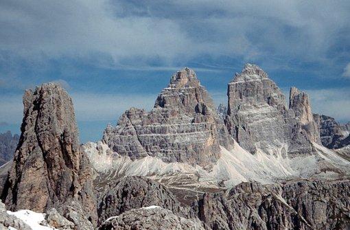 Bakterien bauen ein Gebirge