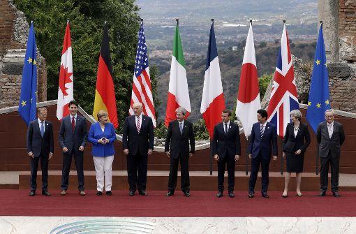 Fortschritt bei Handel, Rückfall bei Klima