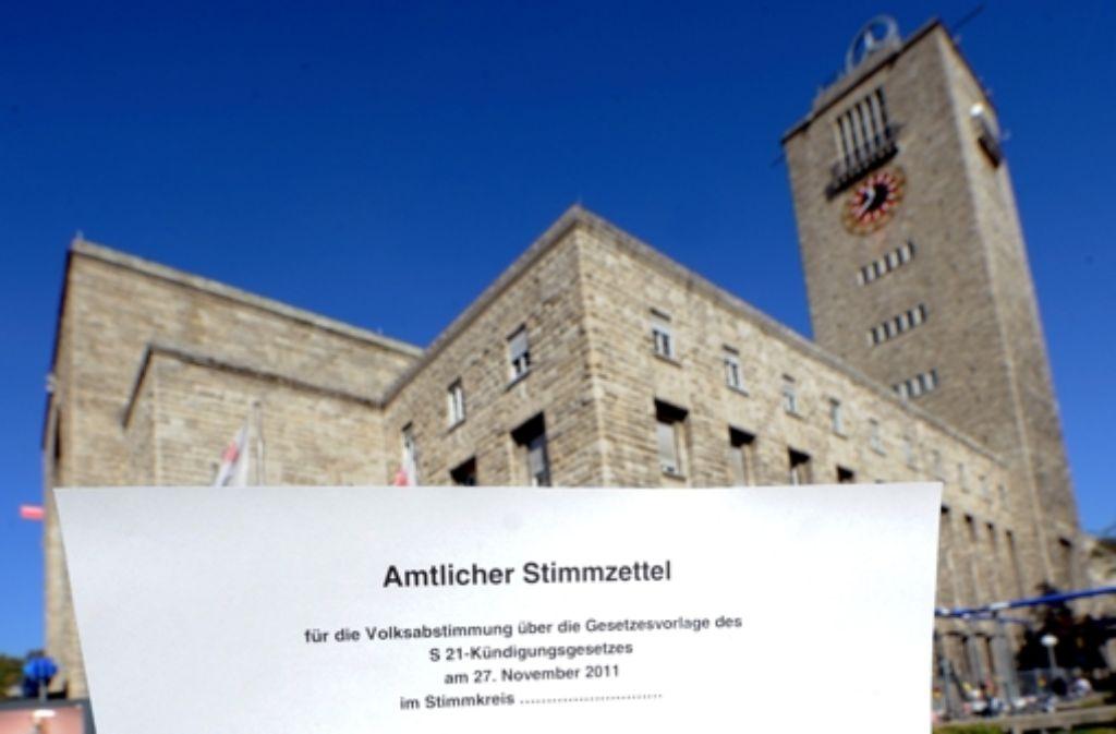 Die Volksabstimmung zu Stuttgart 21 hat in Baden-Württemberg den Wunsch nach mehr Bürgerbeteiligung geweckt. Foto: dpa