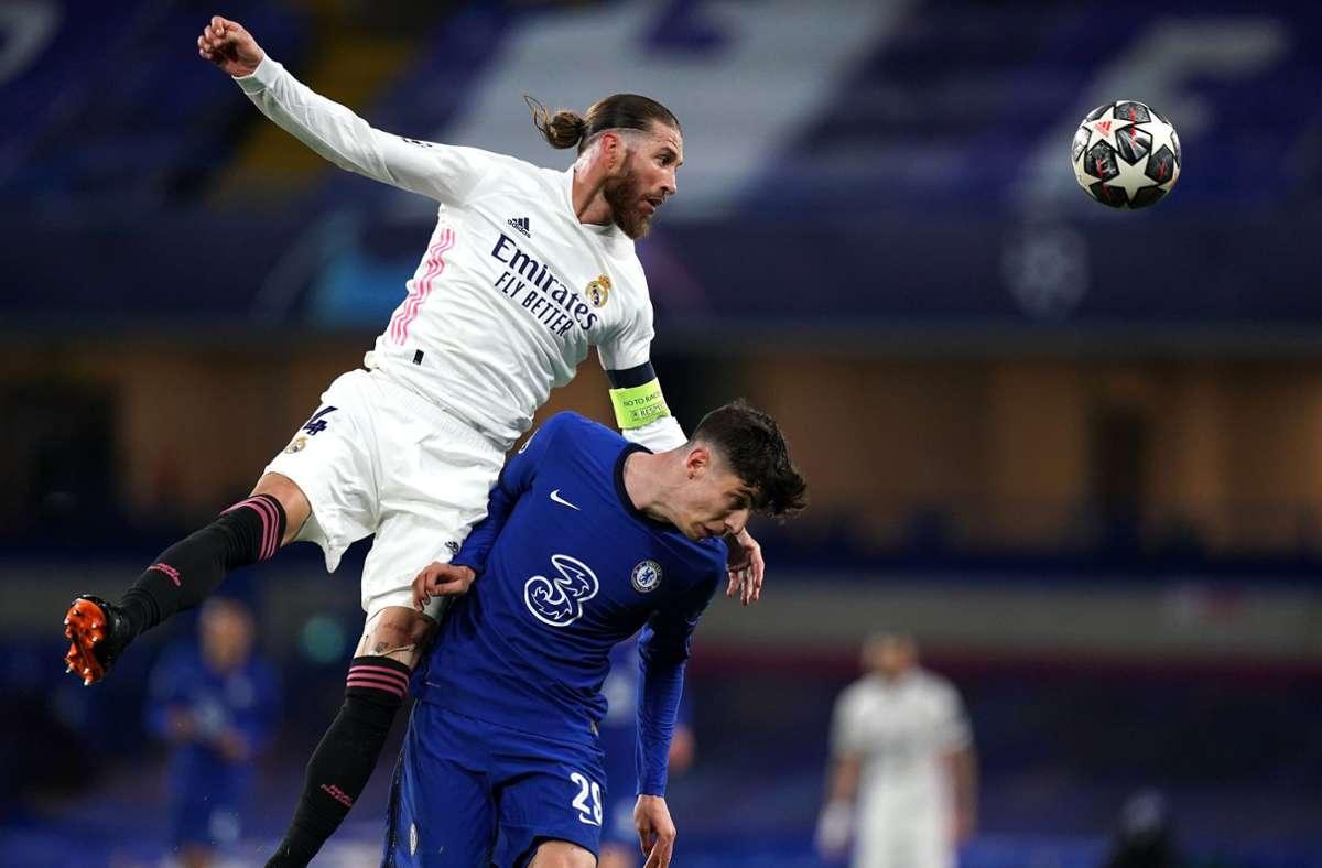 Sergio Ramos verlässt Real Madrid nach 16 Jahren. Foto: dpa/Adam Davy
